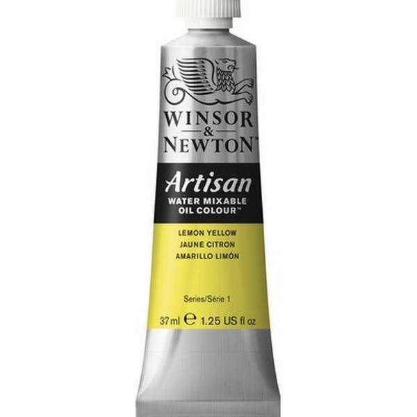 Winsor & Newton Artisan Water Mixable Oil Color Lemon Yellow 346 37ml