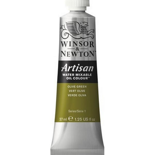 Winsor & Newton Artisan Water Mixable Oil Color Olive Green 447 37ml
