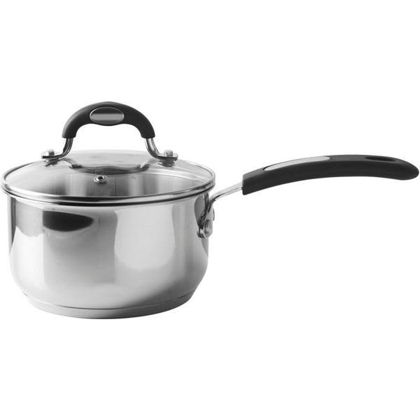 Viners Soft Grip Sauce Pan with lid 16cm