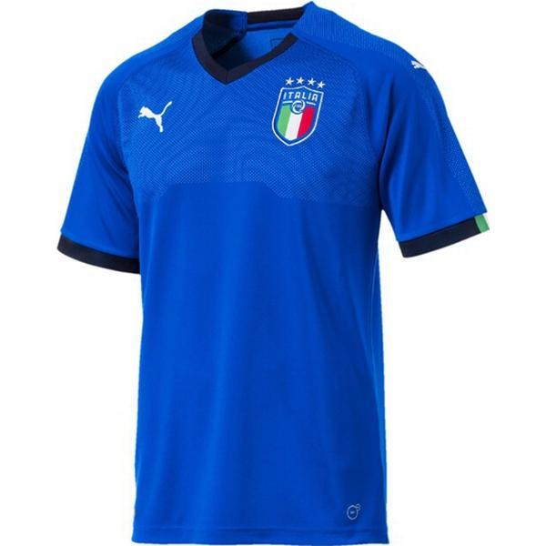 Puma Italien Hjemmebanetrøje 2018 Blå