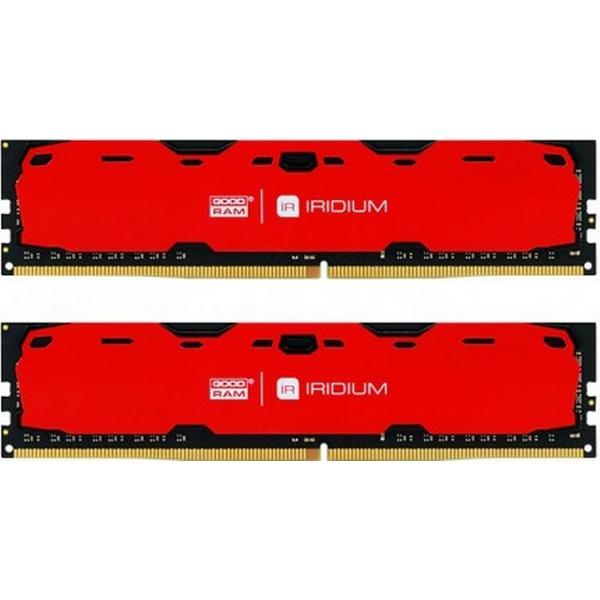 GOODRAM Iridium Red DDR4 2400MHz 2x4GB (IR-R2400D464L15S/8GDC)
