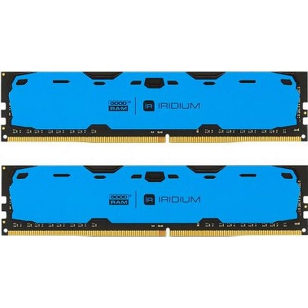 GOODRAM Iridium Blue DDR4 2400MHz 2x4GB (IR-B2400D464L15S/8GDC)