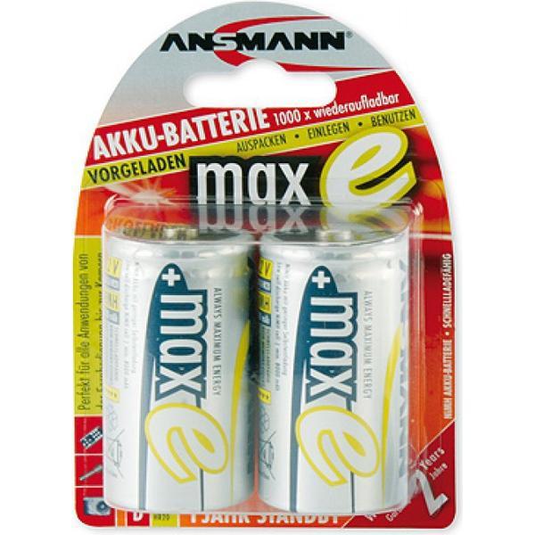 Ansmann NiMH Mono D 8500mAh MaxE 2-pack