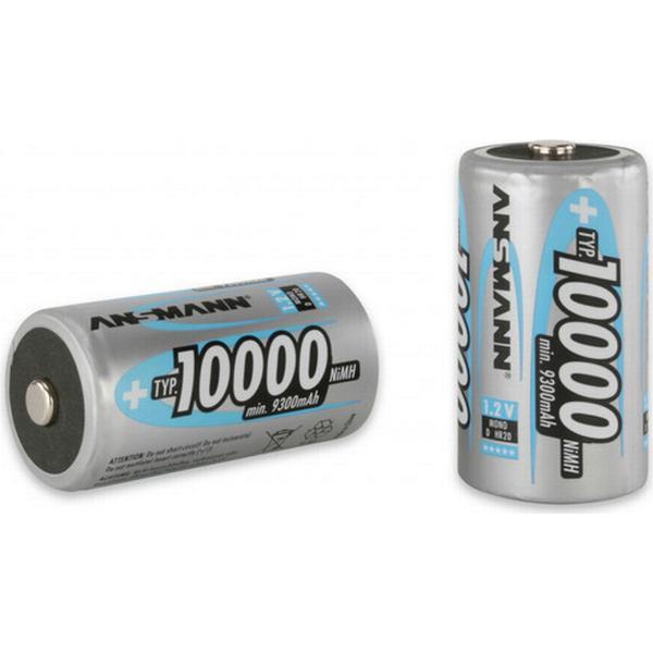 Ansmann NiMH Mono D Typ 10000mAh 2-pack