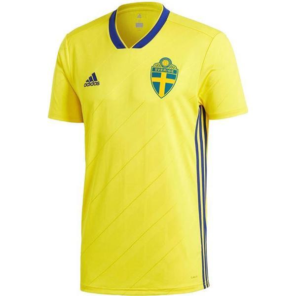 Adidas Sverige Hjemmebanetrøje VM 2018 Børn