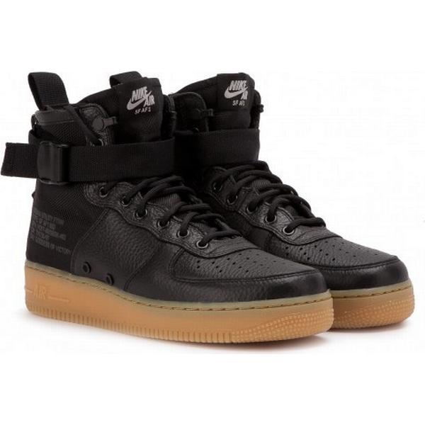 Nike SF Air (Black Force 1 MID (Black Air / Gum) 5179c8