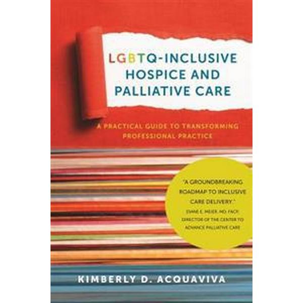 Lgbtq-Inclusive Hospice and Palliative Care: A Practical Guide to Transforming Professional Practice (Inbunden, 2017)