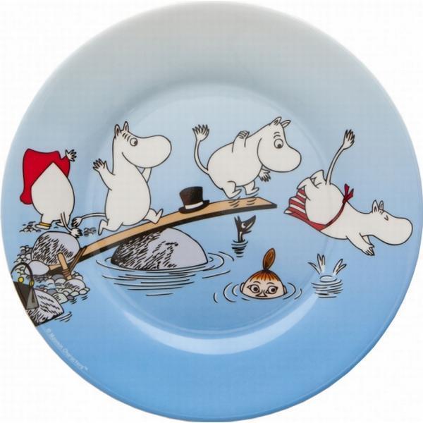 Rätt Start Moomin Plate