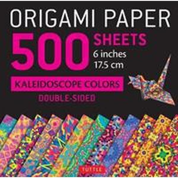 Origami Paper 500 Sheets Kaleidoscope Patterns 6' (15 CM) (Övrigt format, 2017)
