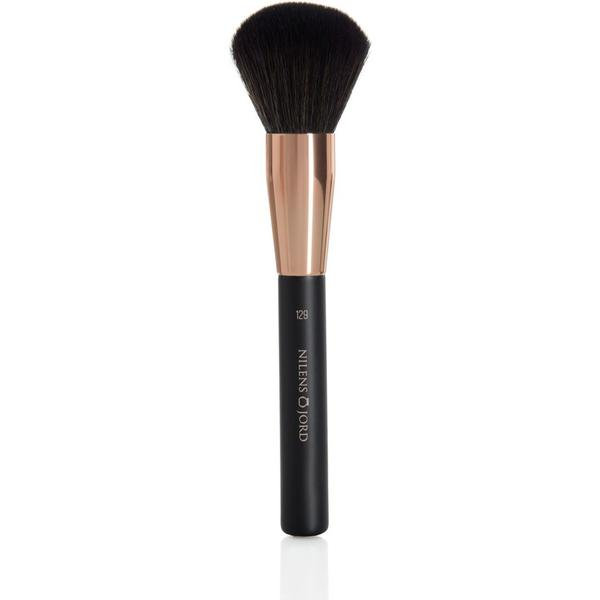 Nilens Jord Rose Gold Powder Brush #129