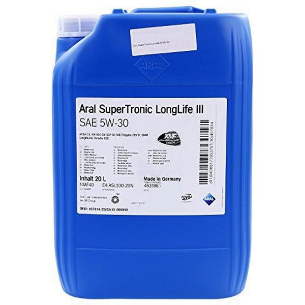 Aral SuperTronic LongLife III 5W-30 Motorolie