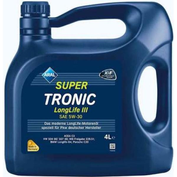 aral supertronic longlife iii 5w 30 motor oil compare. Black Bedroom Furniture Sets. Home Design Ideas