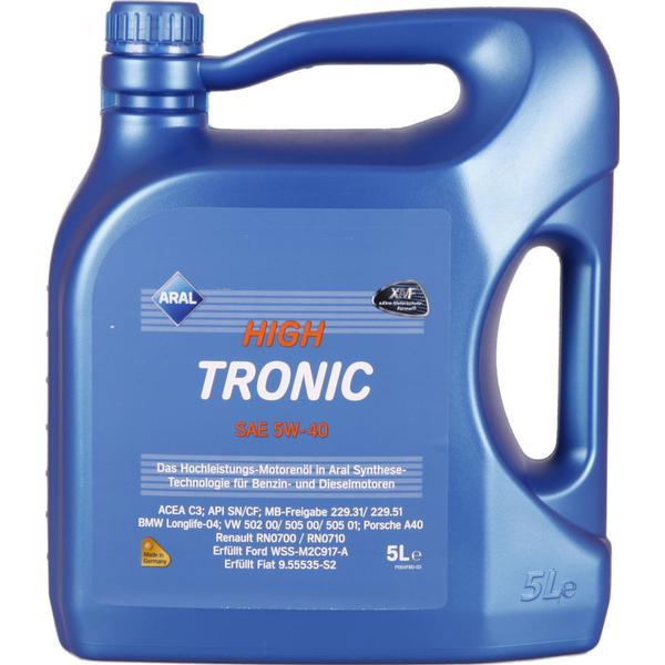 Aral HighTronic 5W-40 Motor Oil