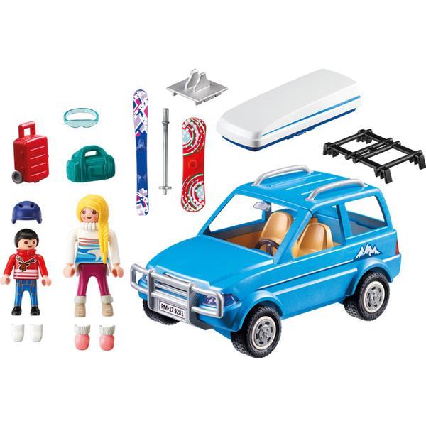 Playmobil Family Fun Bil Med Tagboks 9281