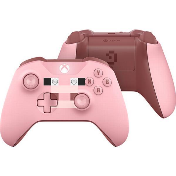 Microsoft Xbox Wireless Controller Minecraft Pig - Pink (Xbox One)