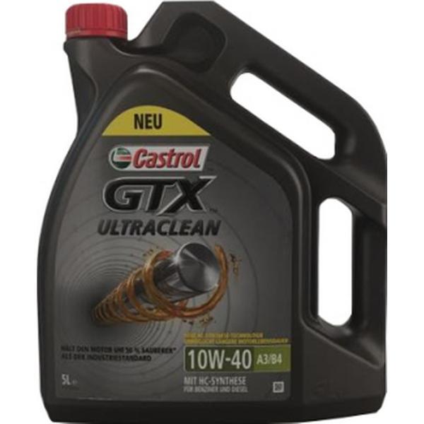 Castrol GTX Ultraclean 10W-40 Motor Oil