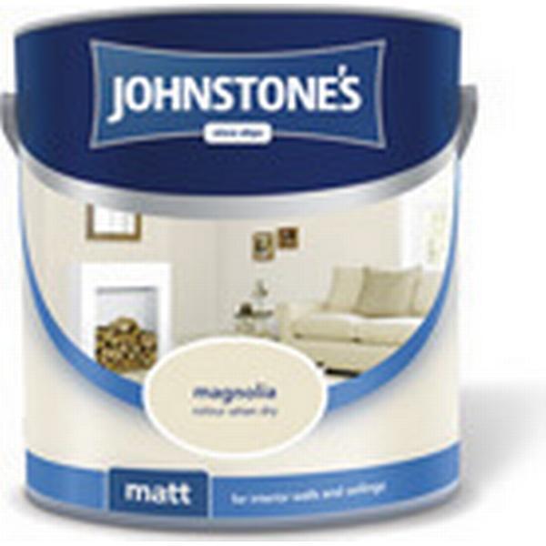 Johnstones Matt Emulsion Wall Paint, Ceiling Paint White 5L