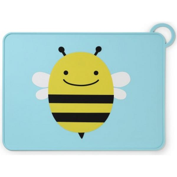 Skip Hop Zoo Fold & Go Silicone Kids Placemat Brooklyn Bee