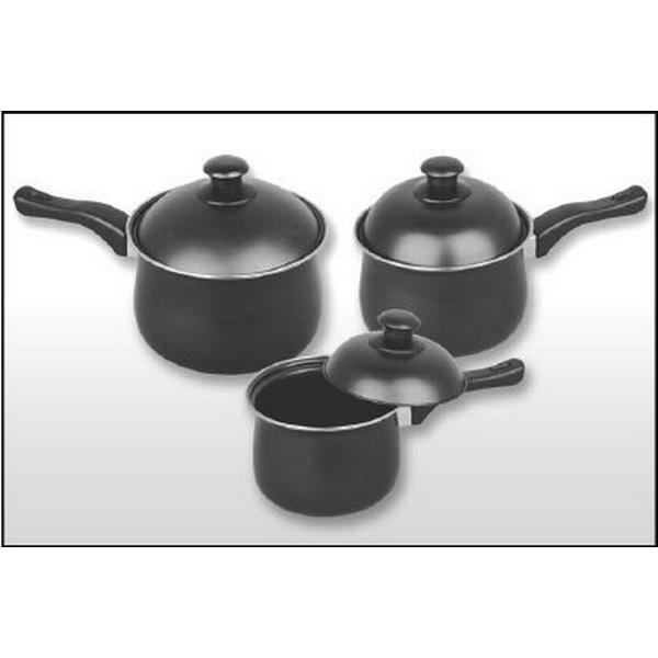 Pendeford First Choice Non Stick Set with lid 3 parts