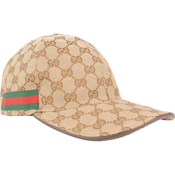 Gucci Original GG Canvas Baseball Hat Beige/Ebony