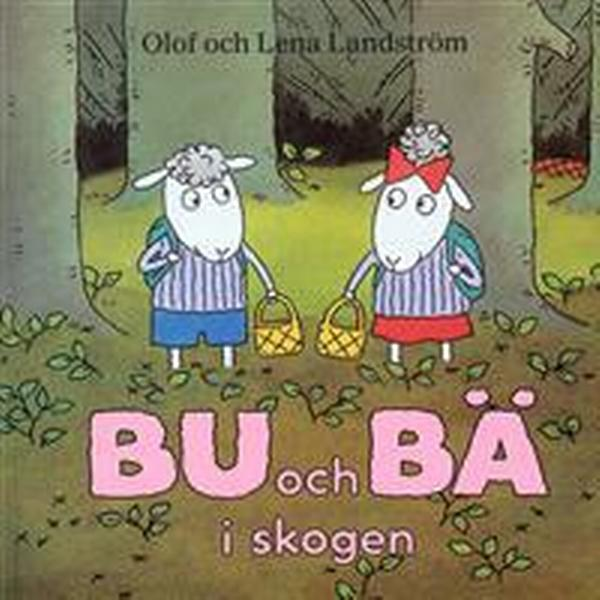 Bu och Bä i skogen (Kartonnage, 1999)