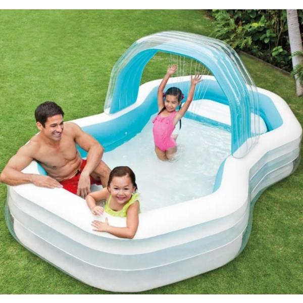 Intex Swim Center Family Cabana Pool 310x188cm