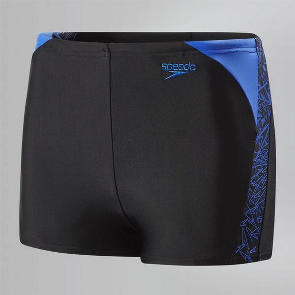 Speedo Boom Splice Aqua Shorts Boys
