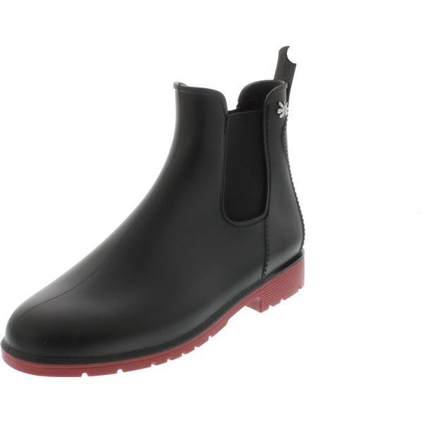 Jumpy Chelsea Boot - Noir & 37 Rouge - EU 37 & (UK 4) 95c2e4