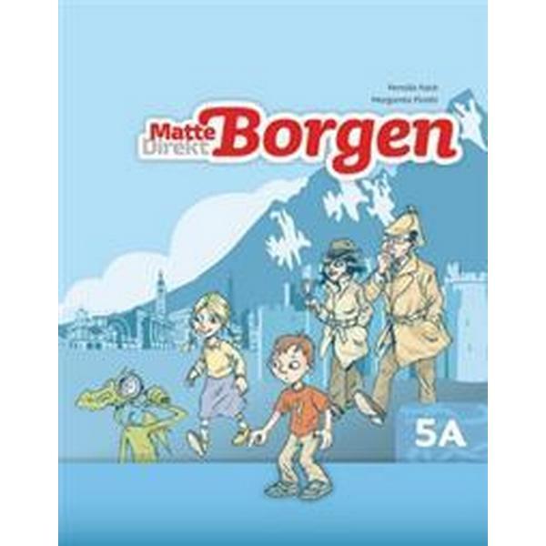 Matte Direkt Borgen Grundbok 5A Ny upplaga (Häftad, 2012)
