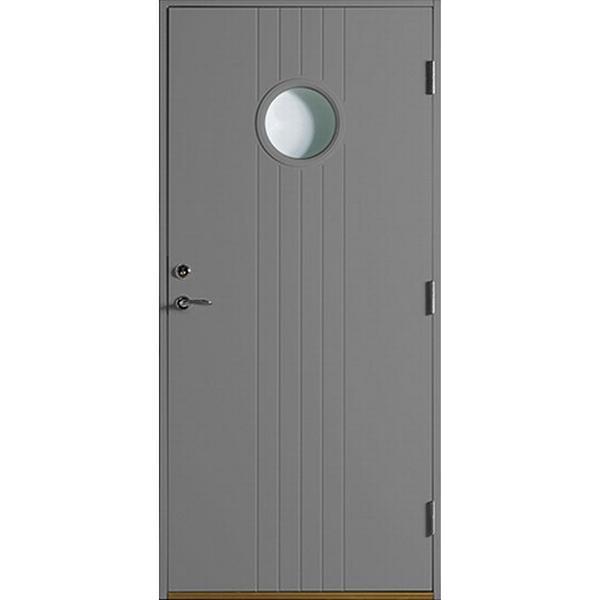 Polardörren Igloo Ytterdörr Klarglas S 6500-N H (100x210cm)