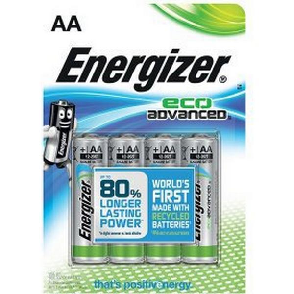 Energizer AA Ecoadvanced 4-pack