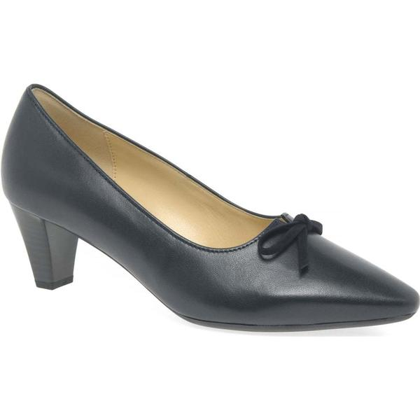 Gabor Pearl Womens Dress Court 4.5 Shoes Colour: Navy/Suede, Size: 4.5 Court 2b5f55