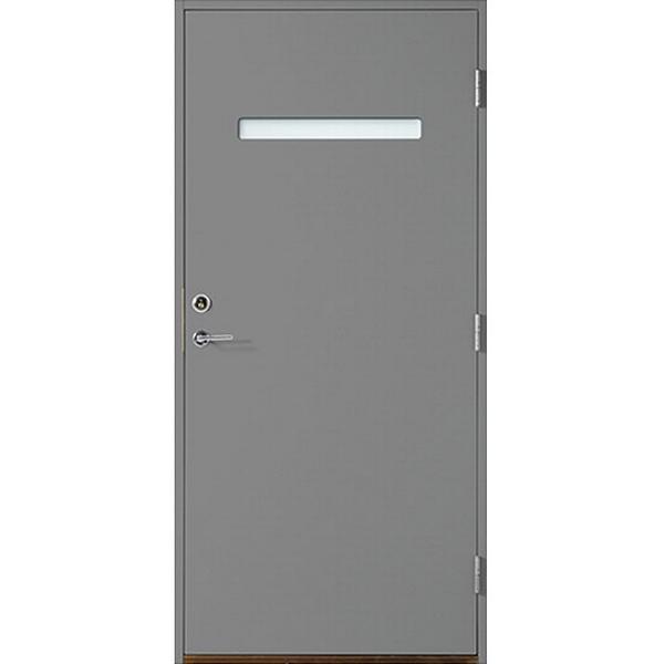 Polardörren Horisont 1 Ytterdörr Klarglas S 6500-N V (100x210cm)