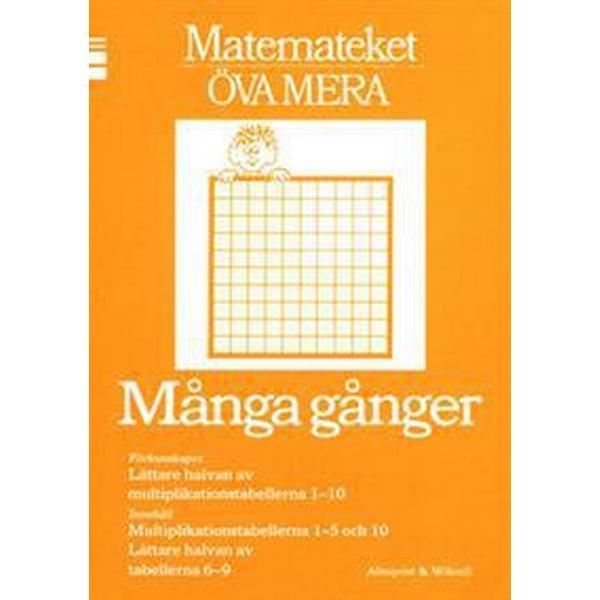 Matemateket Många gånger 10-pack (Häftad, 1987)