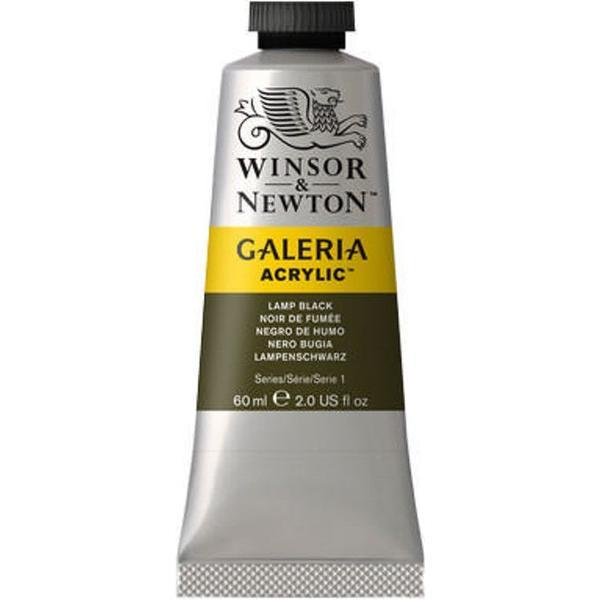 Winsor & Newton Galeria Acrylic Lamp Black 337 60ml