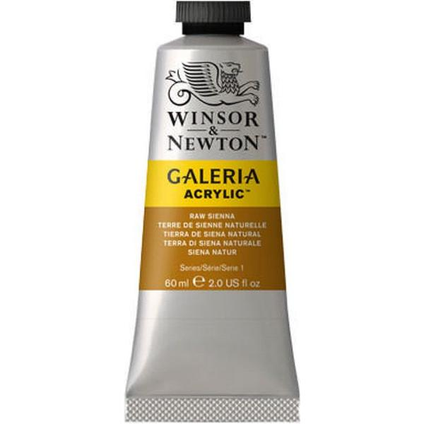 Winsor & Newton Gallery Acrylic Raw Sienna 552 60ml