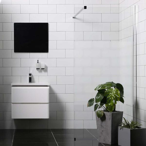 Bathlife Mångsidig Brusevæg 800mm