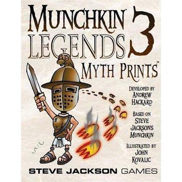 Steve Jackson Games Munchkin Legends 3: Myth Prints
