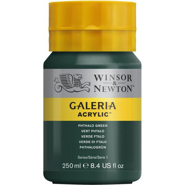 Winsor & Newton Galeria Acrylic Phthalo Green 522 250ml