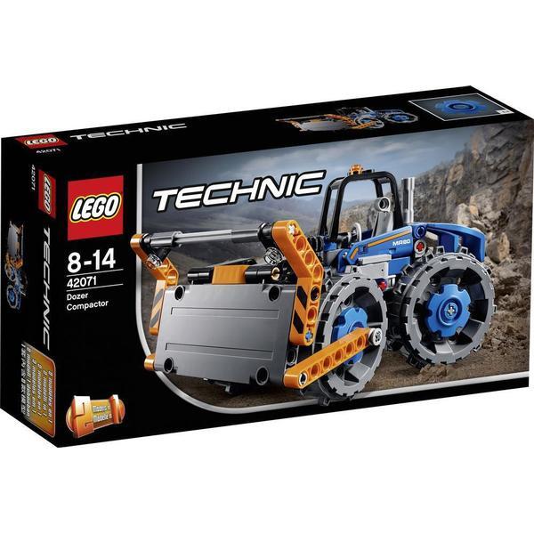 Lego Technic Bulldozer med Trykplade 42071
