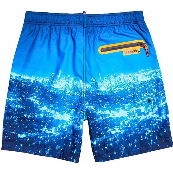 Superdry Premium Neo Swim Shorts Blue City