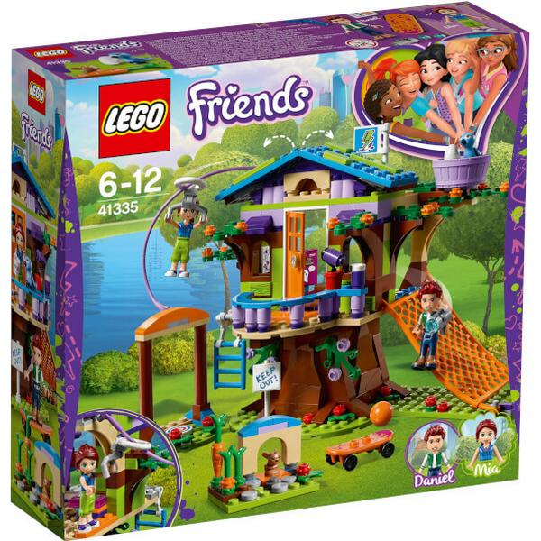 Lego Friends Mias Tree House 41335 Compare Prices Pricerunner Uk