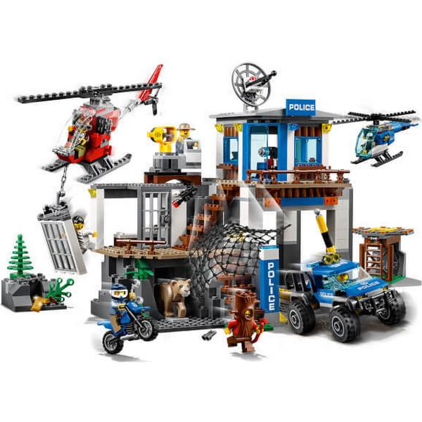 Lego City Mountain Police Headquarters 60174 Compare Prices