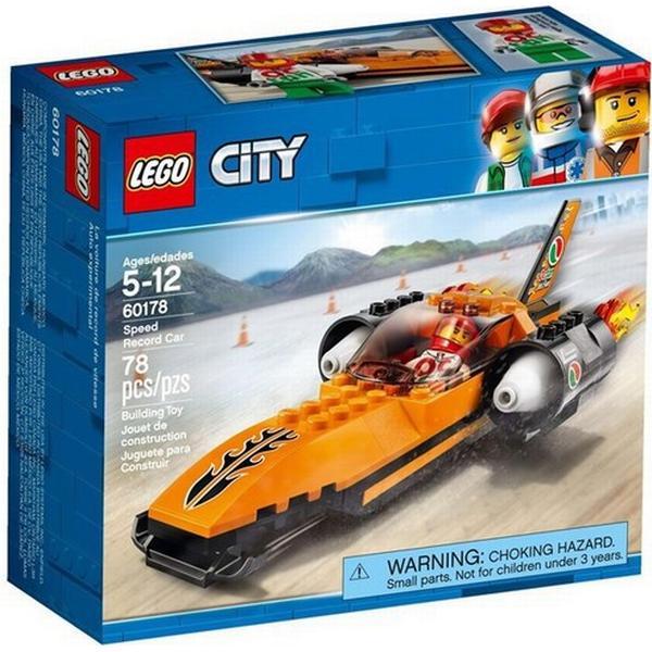 Lego City Fartrekordbil 60178