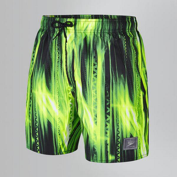 "Speedo Printed Leisure 16"" Shorts"