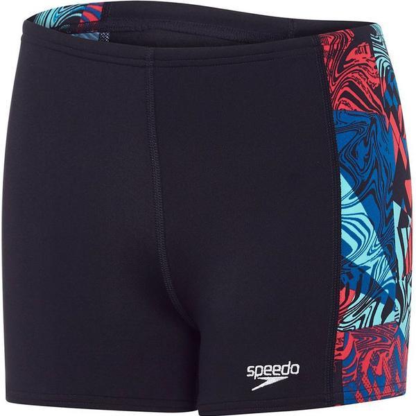 Speedo Astro Ignite Panel Aqua Shorts Jr