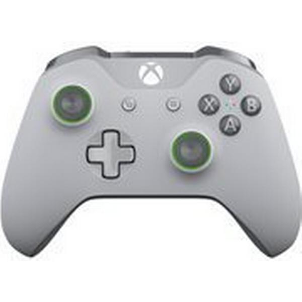 Microsoft Xbox Wireless Controller - Grey/Green (Xbox One)