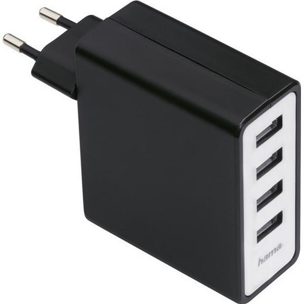 Hama 4-Port USB Charging Adapter