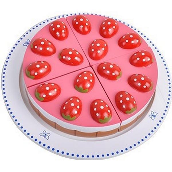 MaMaMeMo Jordbærtærte på Fad