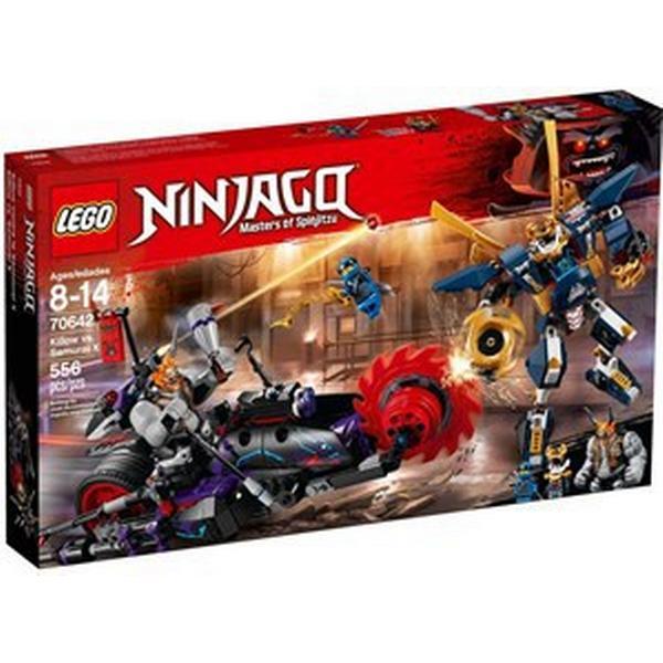 Lego Ninjago Killow mod Samurai X 70642